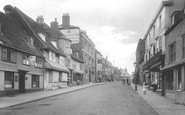 Battle, High Street 1921