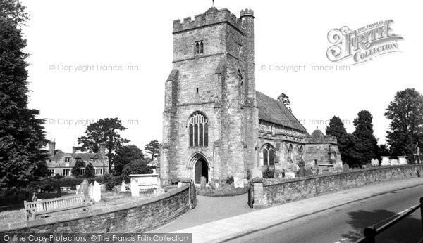 Battle, St Mary The Virgin Church c.1960