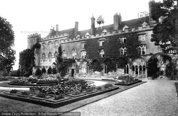 Battle, The Abbey, The East Terrace 1910