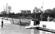 Beachley, The Ferry And Hotel c.1955