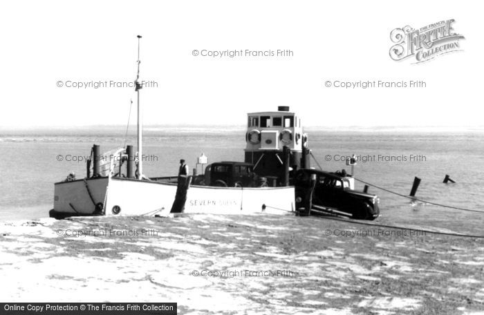 Beachley, The Ferry c.1955