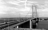 Beachley, The Severn Bridge c.1966