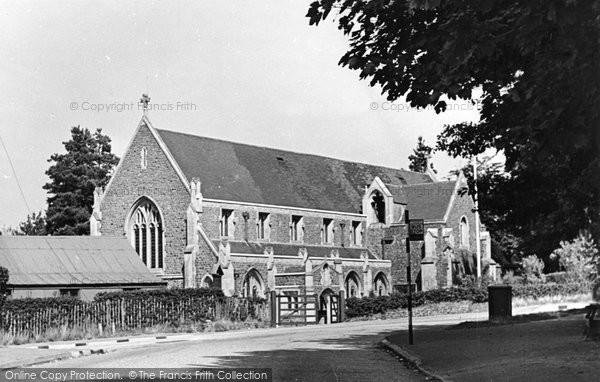 Beacon Hill, Parish Church Of St Alban c.1955