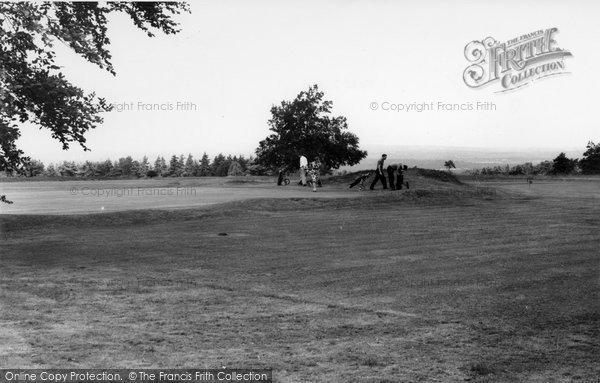 Beacon Hill, The Golf Links c.1960