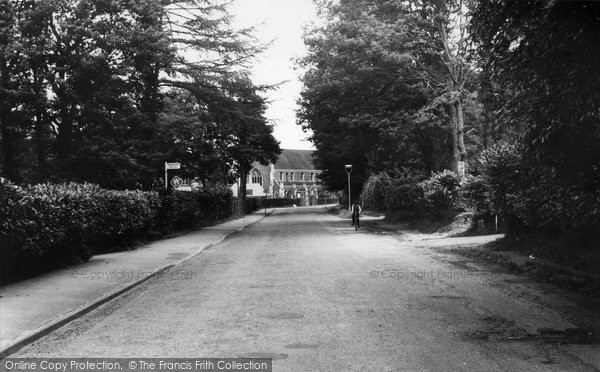 Beacon Hill, Wood Road c.1960