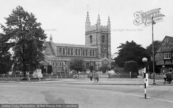 Beaconsfield, The Parish Church c.1950