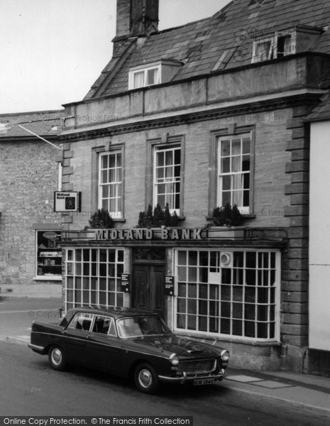 Beaminster, Car c.1965