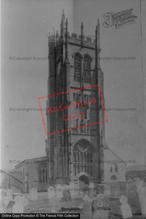 Beaminster, Church West Front 1902