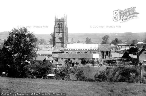 Beaminster, From South 1902