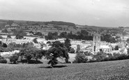 Beaminster, General View c.1960