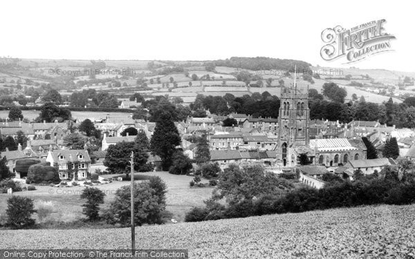 Beaminster, General View c.1960