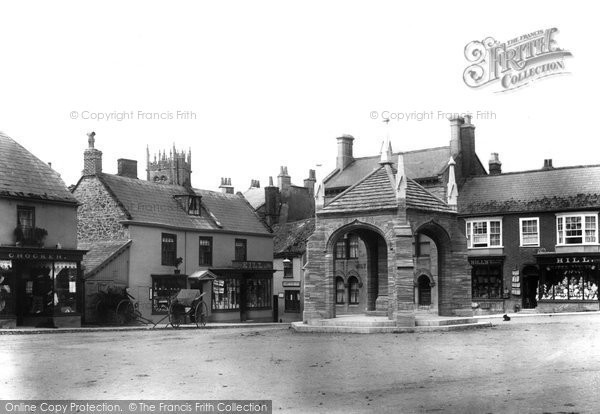 Beaminster, Market Place 1907