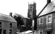 Beaminster, St Mary's Church 1902