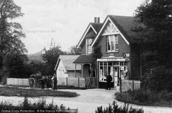 Beare Green, Village Shop 1909