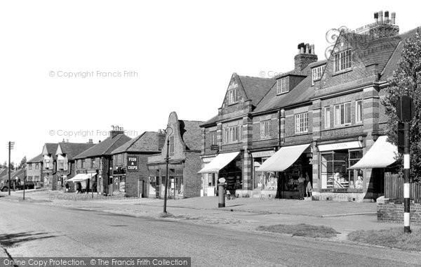 Beauchief, Hutcliffe Wood Road c.1955