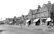 Beauchief, Hutcliffe Wood Road c.1955