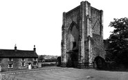 Beauchief, The Abbey c.1965