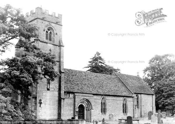 Beaudesert, St Nicholas Church c.1960