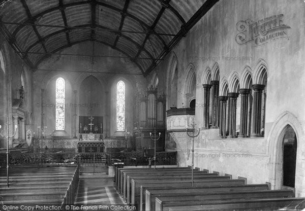 Beaulieu, The Abbey Church Interior 1908