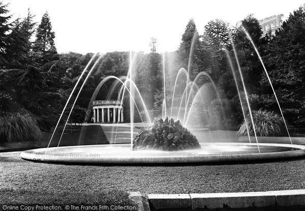 Beaumaris, Baron Hill, The Fountain 1891