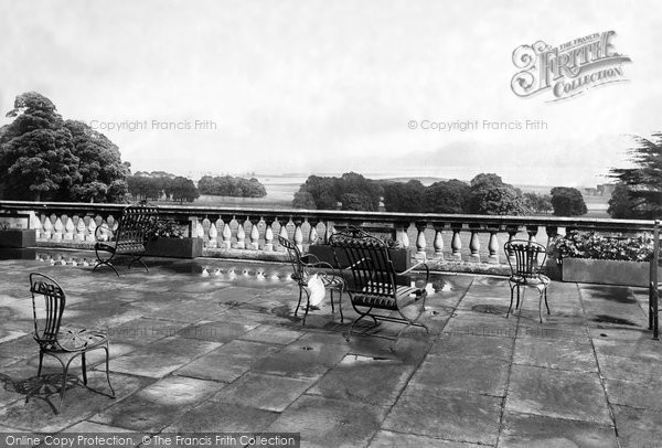 Beaumaris, Baron Hill, View From Terrace 1891
