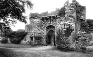Beaumaris, Castle Gateway 1911