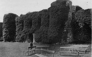 Beaumaris, Castle Interior c.1870