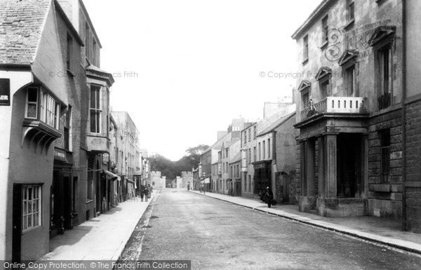Beaumaris, Castle Street 1904