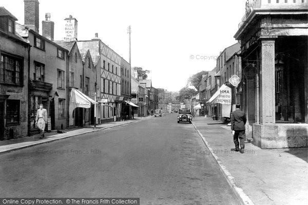 Beaumaris, Castle Street 1933