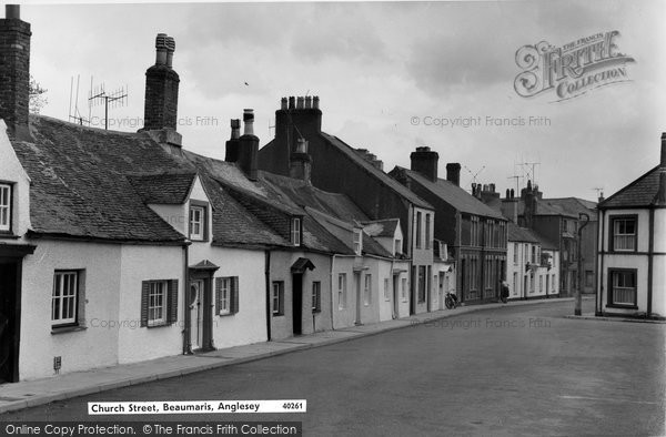 Beaumaris, Castle Street c.1963