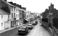 Beaumaris, Church Street c.1960