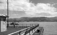 Beaumaris, Coast From The Pier c.1961