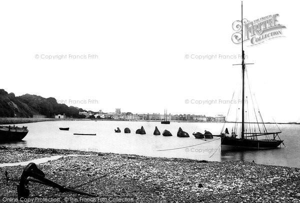 Beaumaris, From The Beach 1890