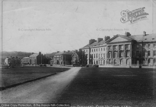 Beaumaris, From The Green 1904