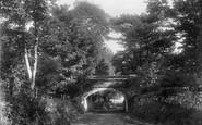 Beaumaris, Pont Rallt-Coch-Bach 1904