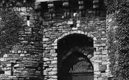 Beaumaris, The Castle Entrance 1890