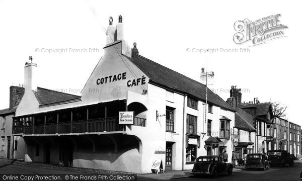 Beaumaris, The Cottage Café c.1955