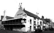 Beaumaris, The Cottage Café c.1955