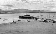 Beaumaris, The Green And Pier c.1960