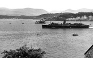 Beaumaris, View From The Gazelle Hotel c.1960