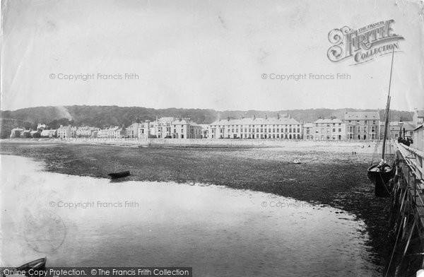 Beaumaris, Village From Pier 1892