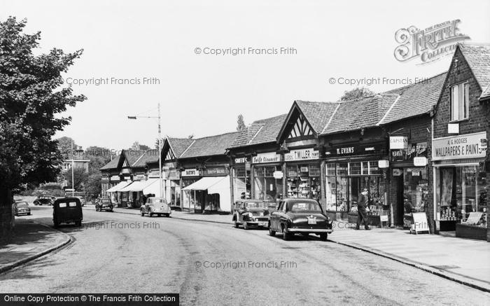 Bebington, Church Road c.1965