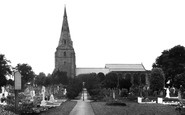 Bebington, St Andrew's Church 1936