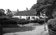 Bebington, The Thatched Cottages 1936
