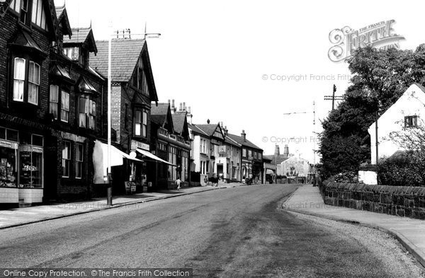Photo of Bebington, the Village c1965