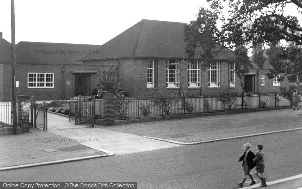 Bebington, Town Lane School c.1965