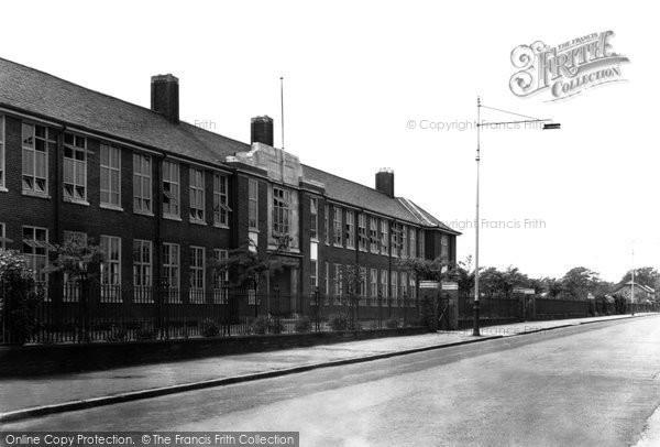 Bebington, Wirral Grammar School For Girls 1950