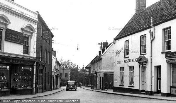 Beccles, Blyburgate c.1955