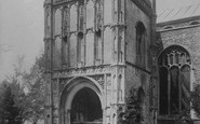Beccles, Church, South Porch 1894