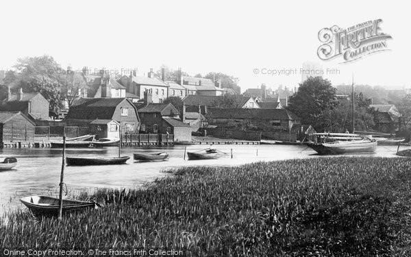 Beccles, From The Marshes 1894